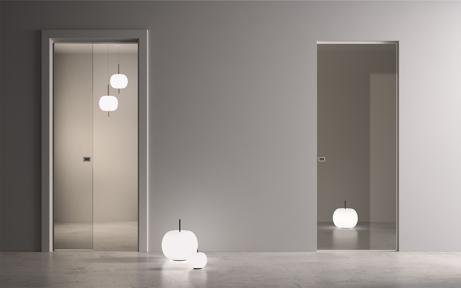 la porte coulissante garofoli un esprit d 39 ouverture garofoli. Black Bedroom Furniture Sets. Home Design Ideas
