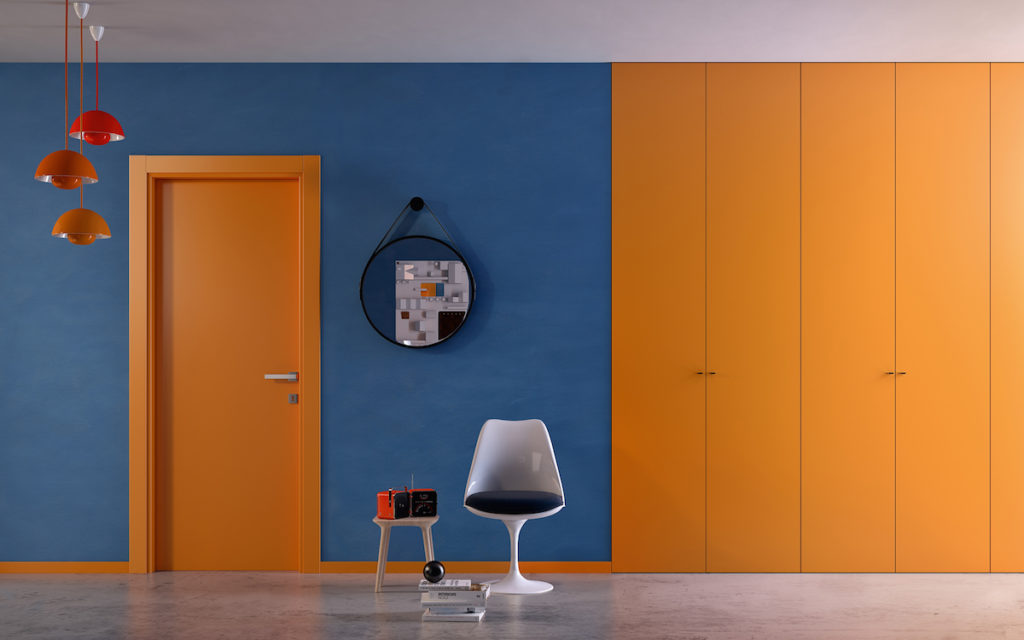 Porta colorata laminato 1000colours