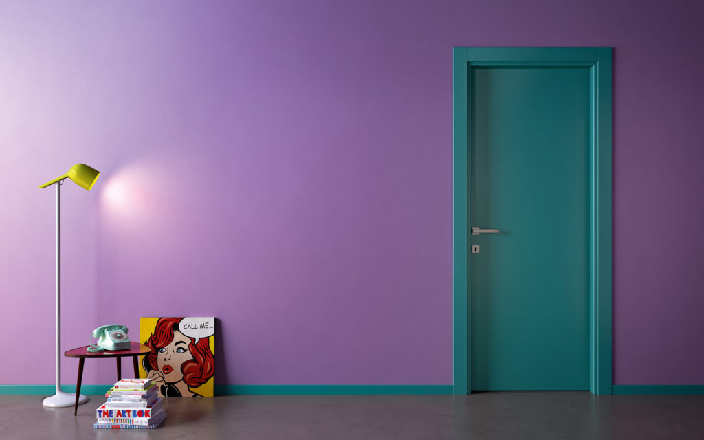Porta colorata RAL 1000colours