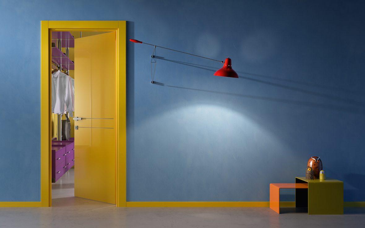 Porta gialla 1000colours Gidea - Gidea