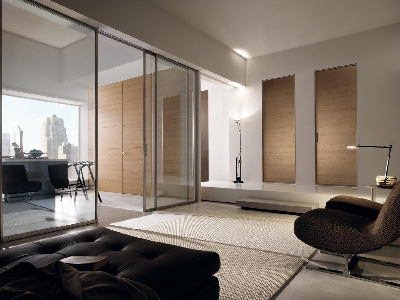 Porte in legno vetro Garofoli Gdesigner - Garofoli