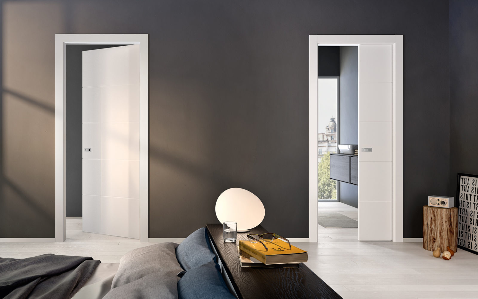 Italian doors, parquet, wardrobes and wooden design | Garofoli