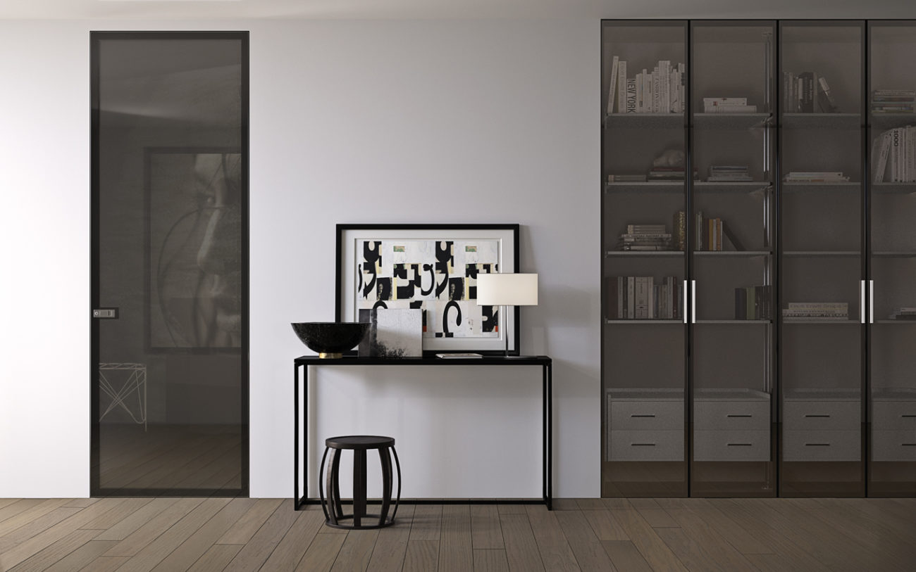 Armadio Filo Muro miria wardrobes and solutions: panels and shelves | garofoli