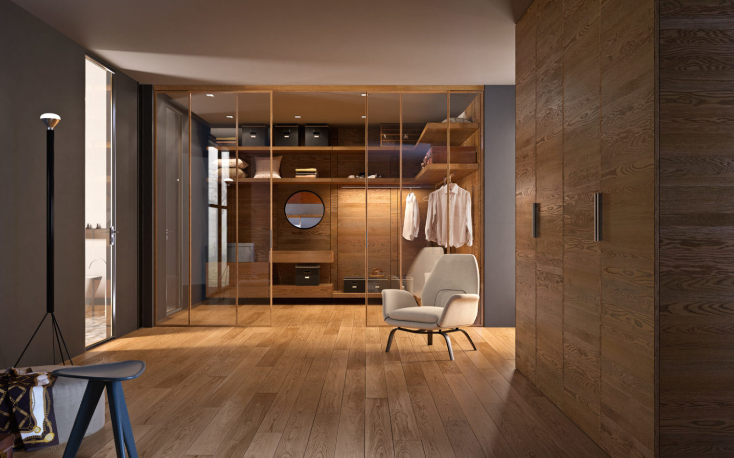 Ingresso Con Armadio A Muro.Miria Wardrobes And Solutions Panels And Shelves Garofoli