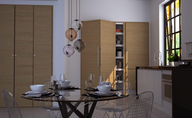 Armadio Miria per cucina - Garofoli