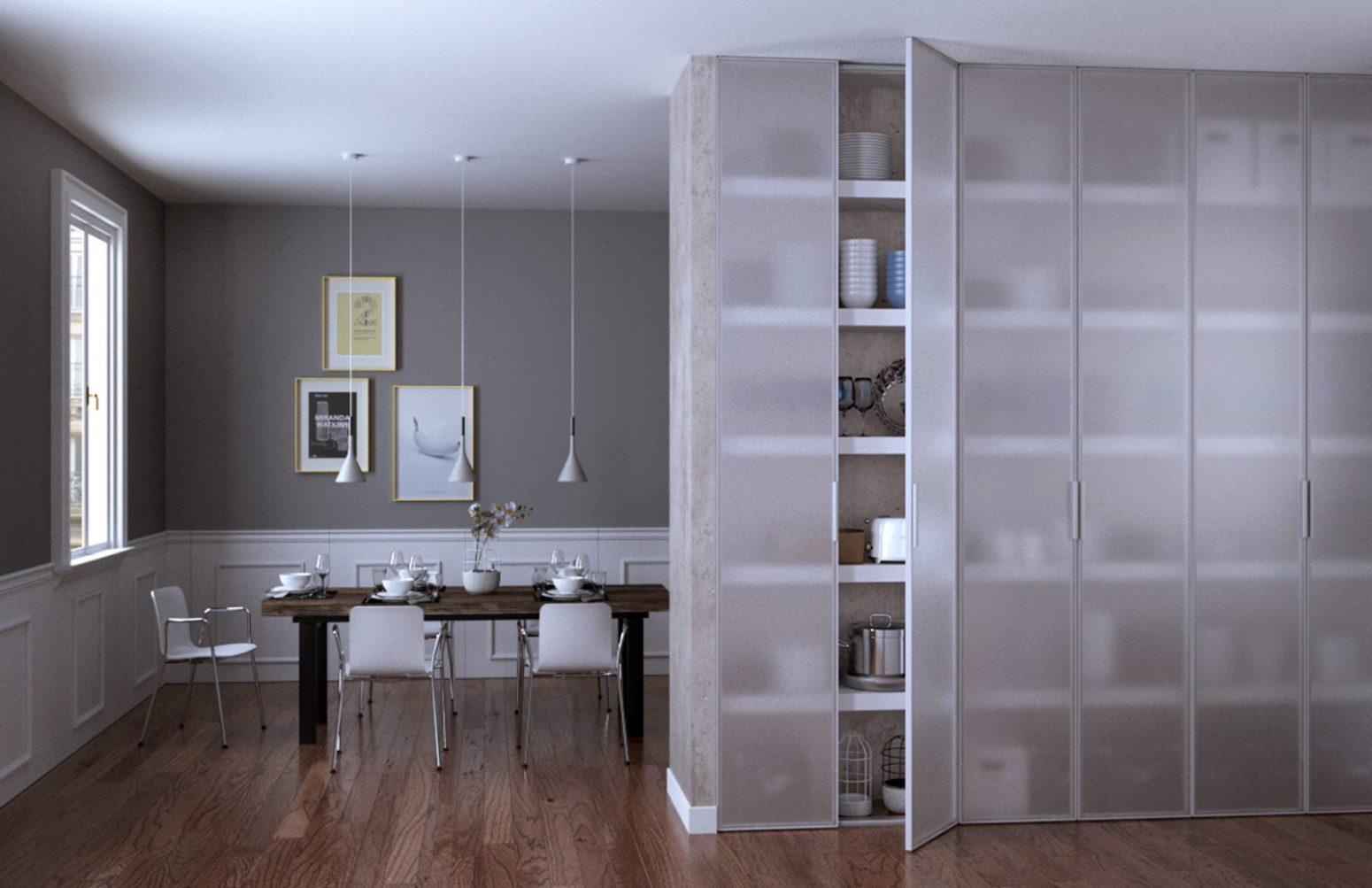 Librerie in vetro miria soggiorno - Garofoli