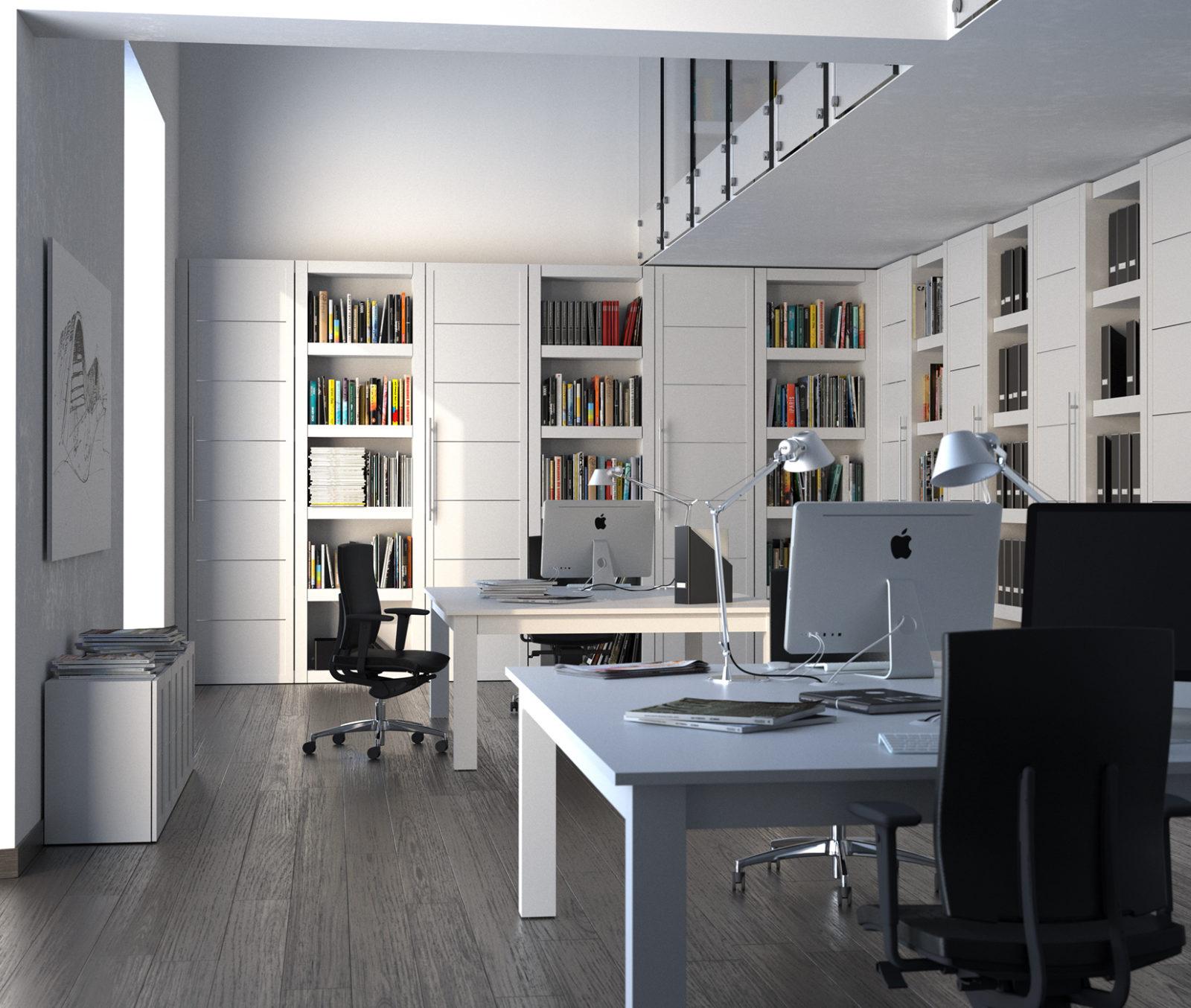 Parquet pannelli stile ufficio con - Garofoli