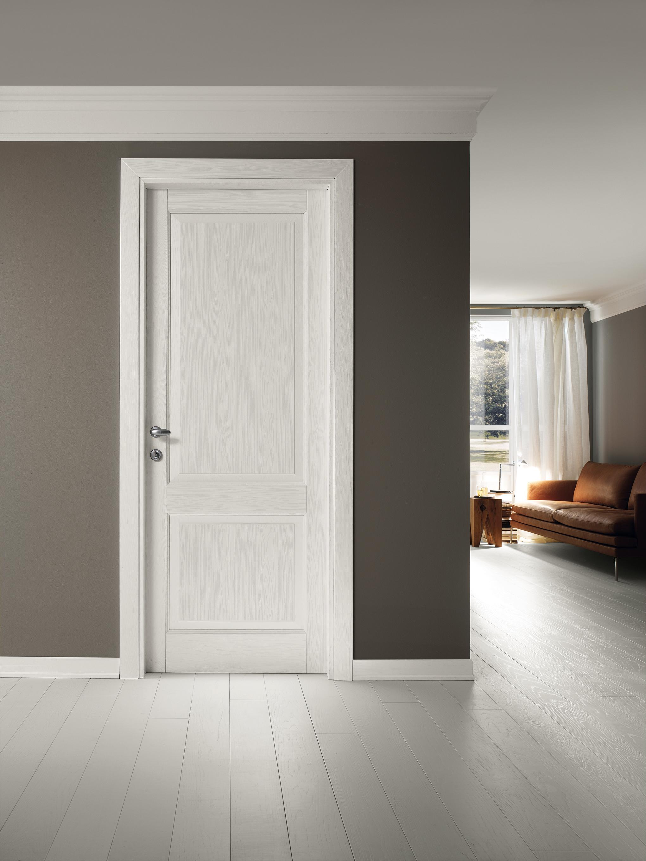 Porta in legno bianca Classica - Garofoli