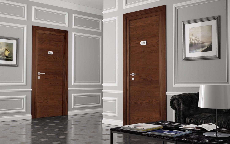 Porte tagliafuoco Rei 120 in legno - Garofoli