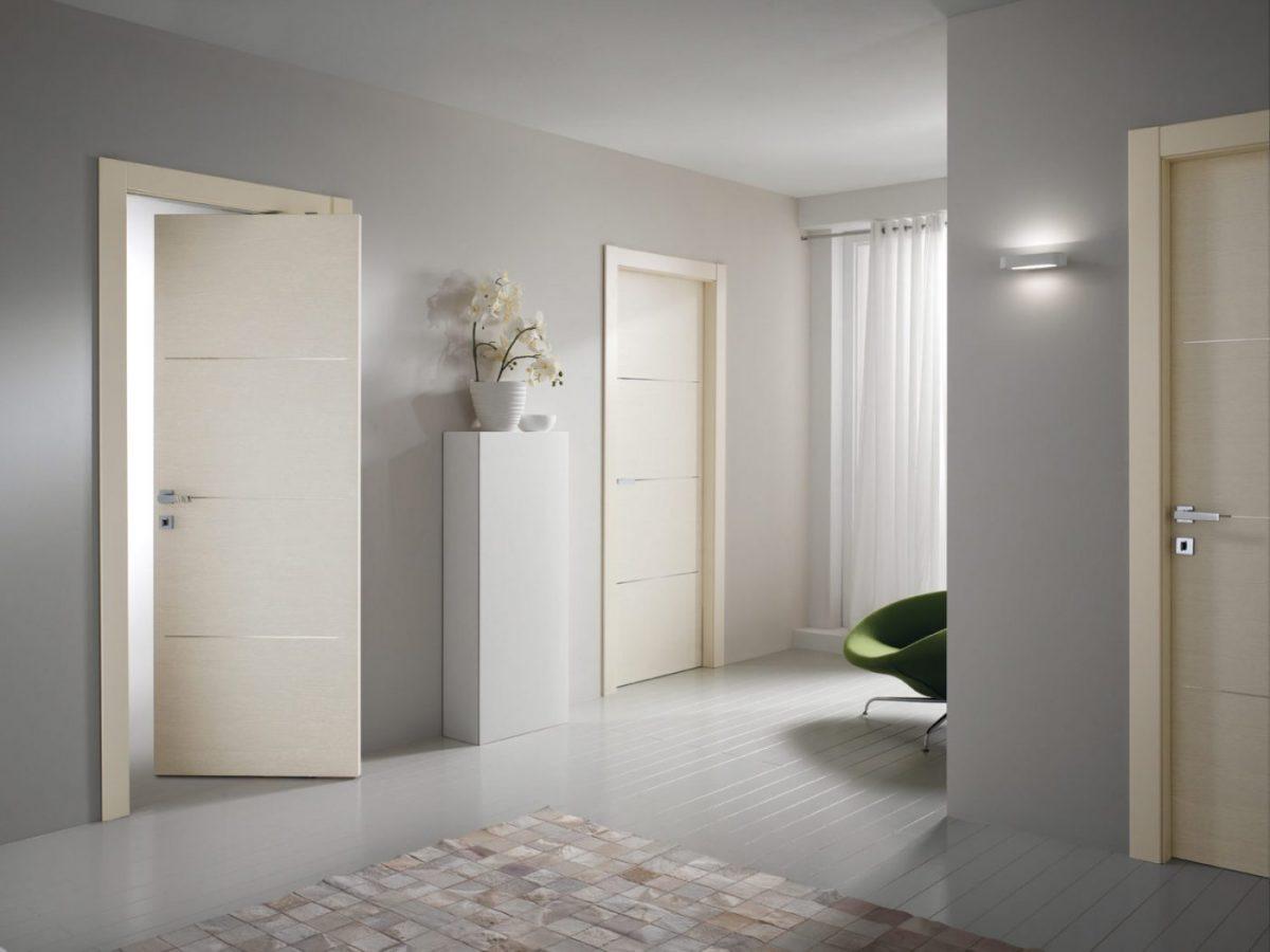 Porta rototraslante laccata avorio - Garofoli