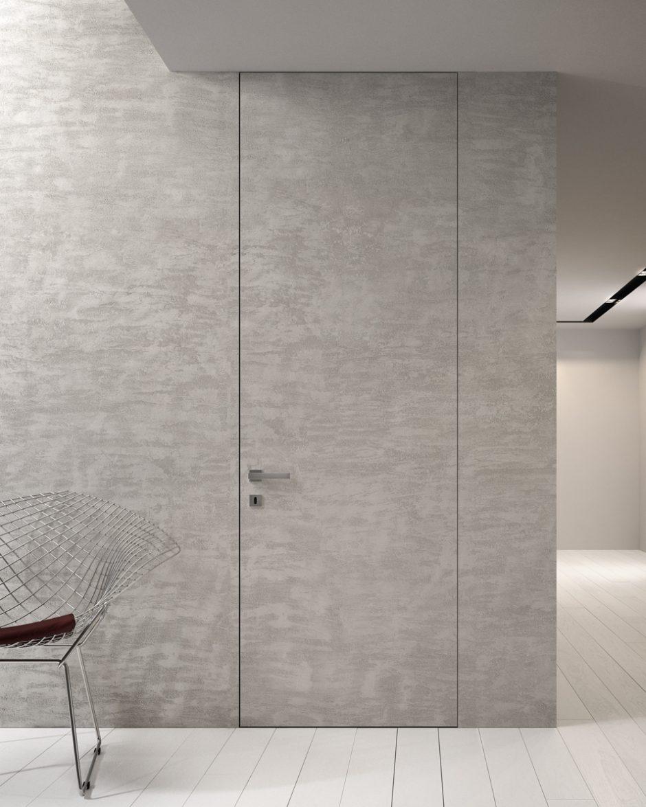 Porta tagliafuoco a filo muro tinteggiabile - Garofoli