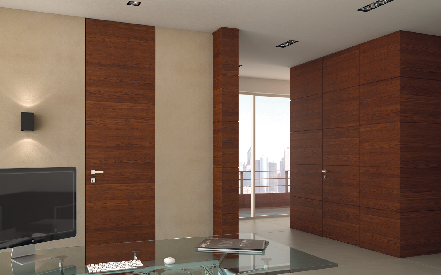 Flush Wall Doors Garofoli