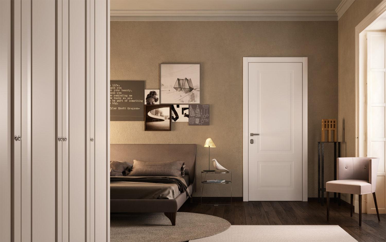 Porta blindata sovrana camera da letto - Garofoli