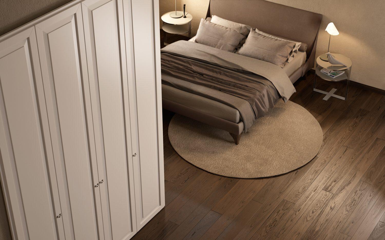 Armadio e parquet per camera da letto - Garofoli