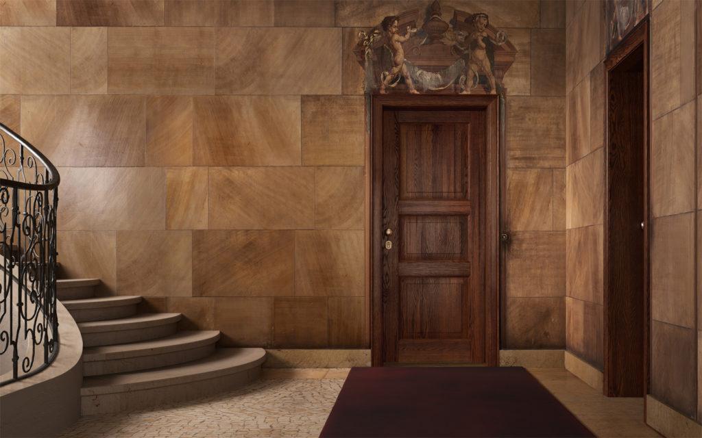 Porta in legno blindata Garofoli Sovrana