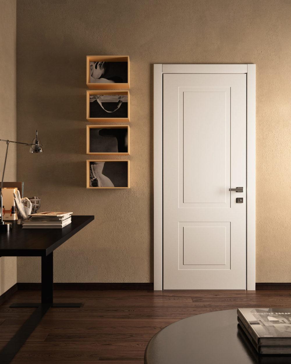 porte interne laccate pantografate collezione miraquadra