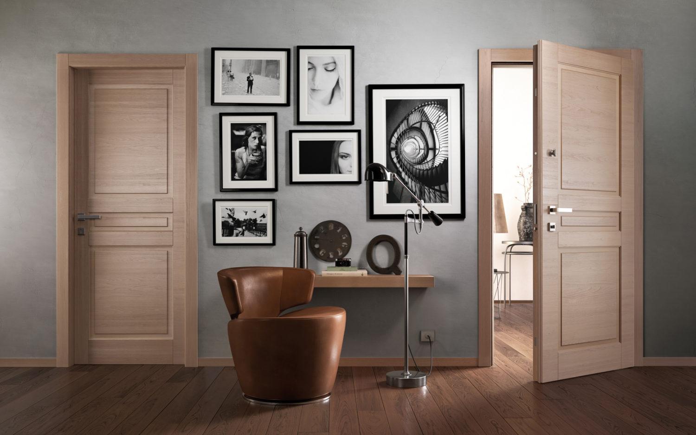 Porte blindate classiche in legno - Garofoli