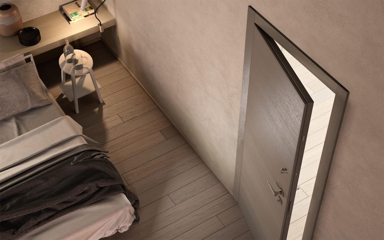 Porta blindata garofoli Sovrana camera da letto - Garofoli