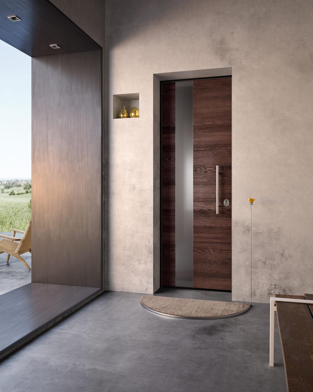 Porta blindata garofoli Sovrana - Gidea