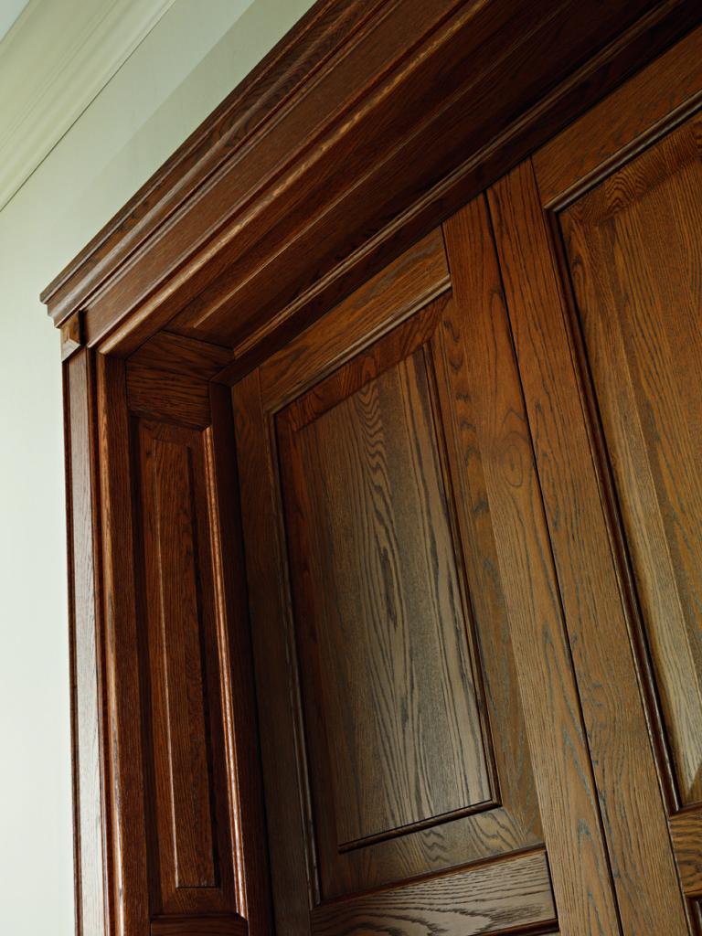 Porta in legno massiccio 110LODE