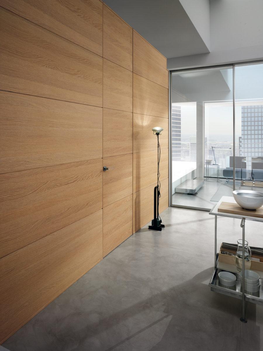 Porta legno rivestita boiserie Gdesigner - Garofoli