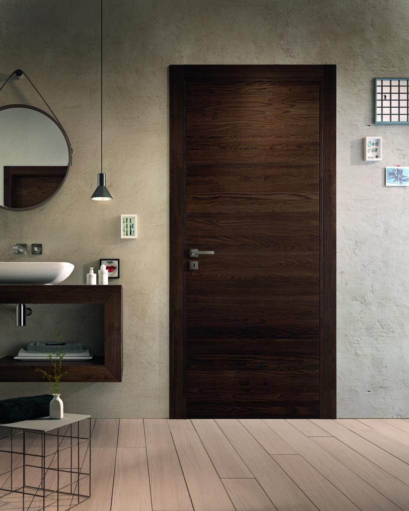 Porta in legno rovere mirawood