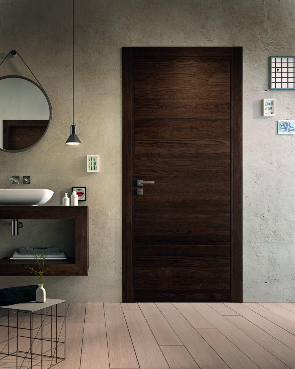 Porta in legno rovere mirawood - Garofoli