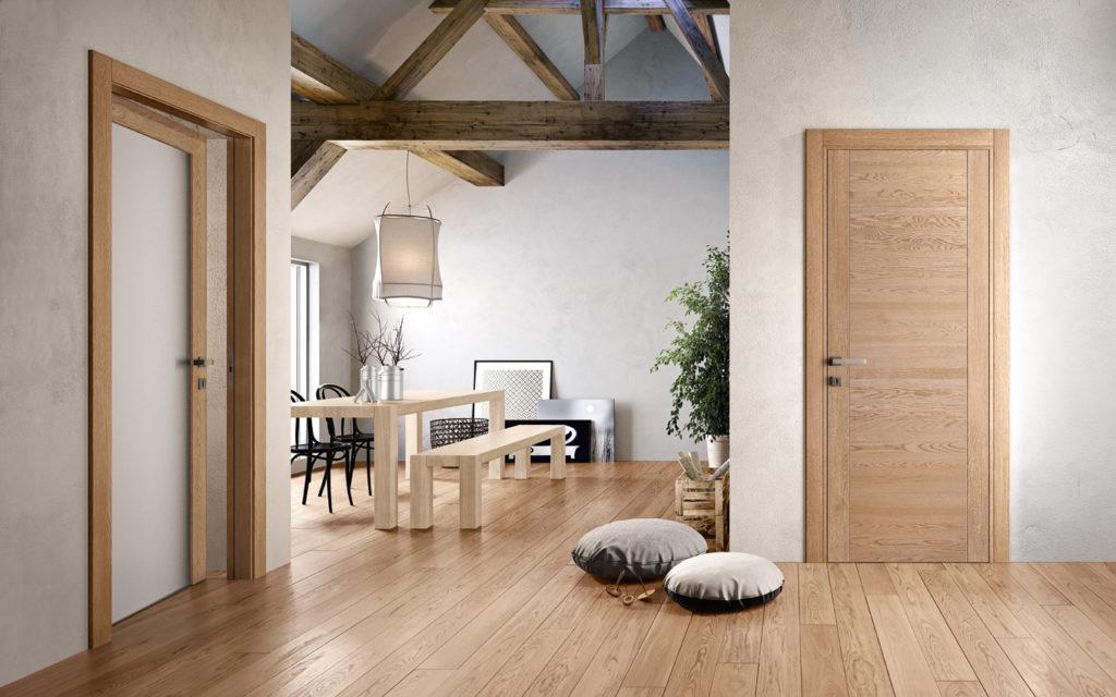 porte in legno e vetro mirawood