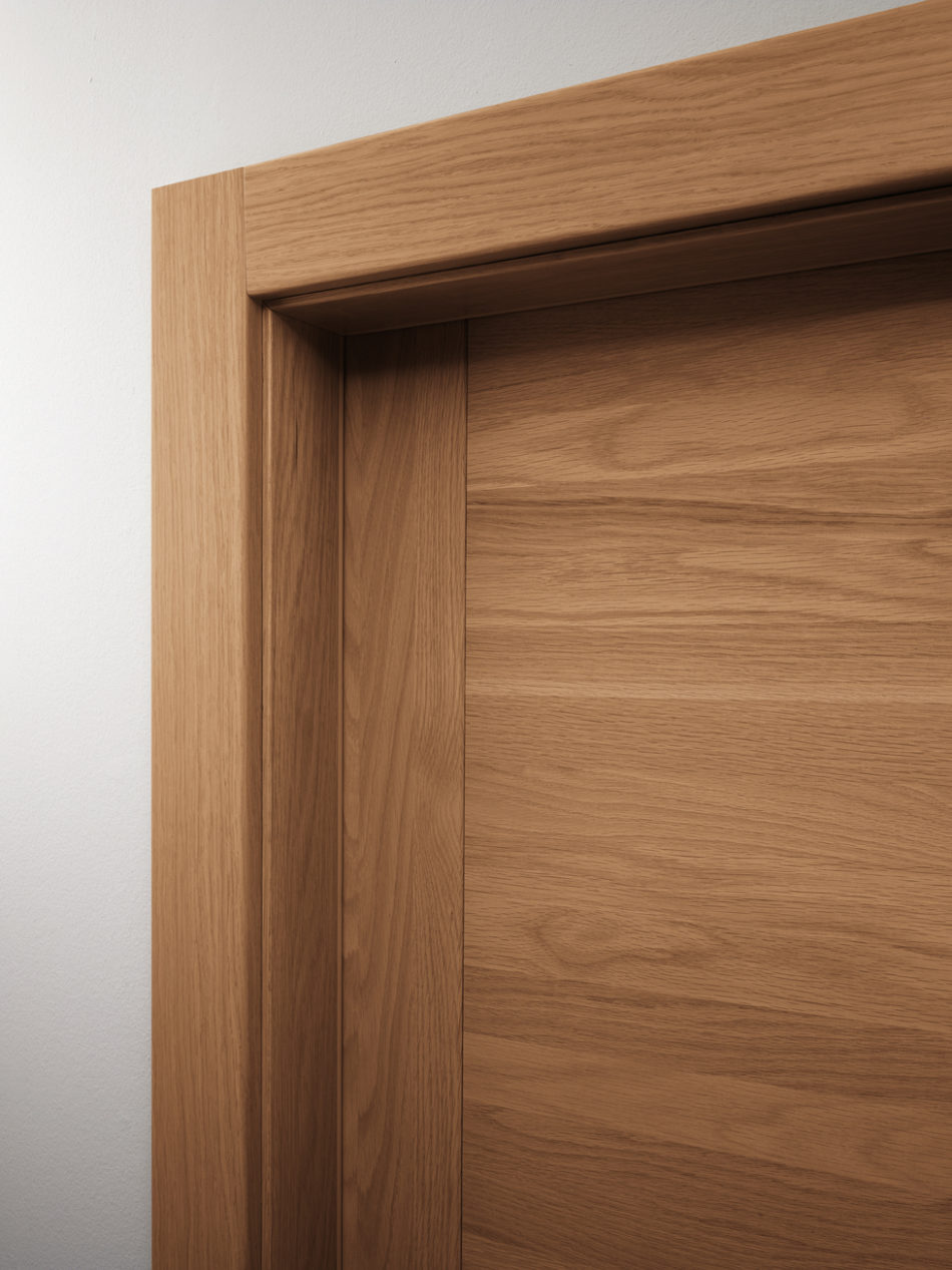 Porta in legno pangea garofoli - Garofoli