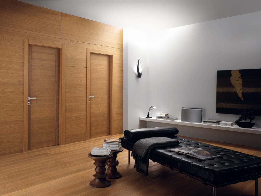 porte in legno stile moderno Pangea