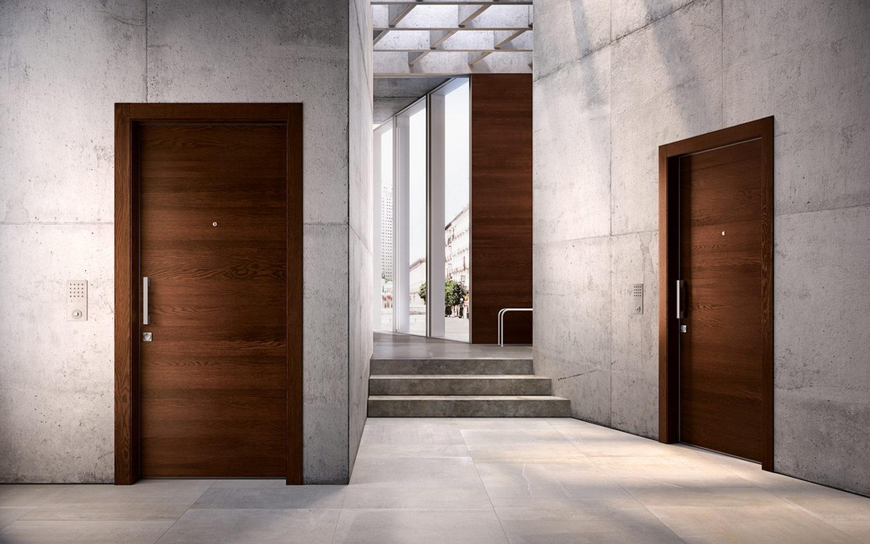 Porte blindate moderne in legno - Garofoli