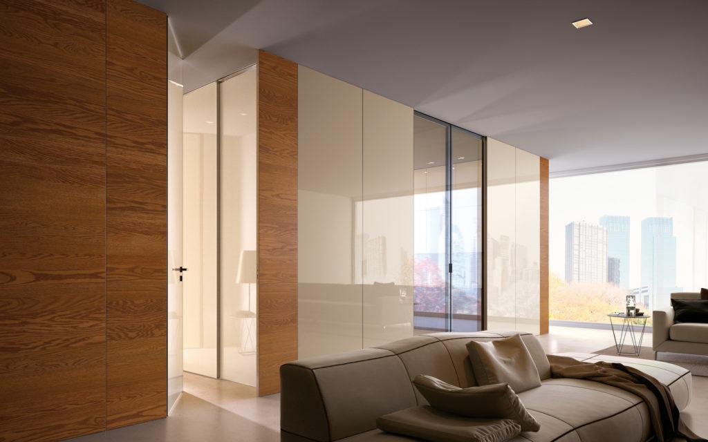 10 ispirazioni per le porte del tuo soggiorno in stile ...