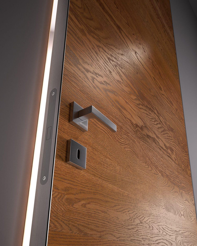 Porta in legno bisystem - Garofoli