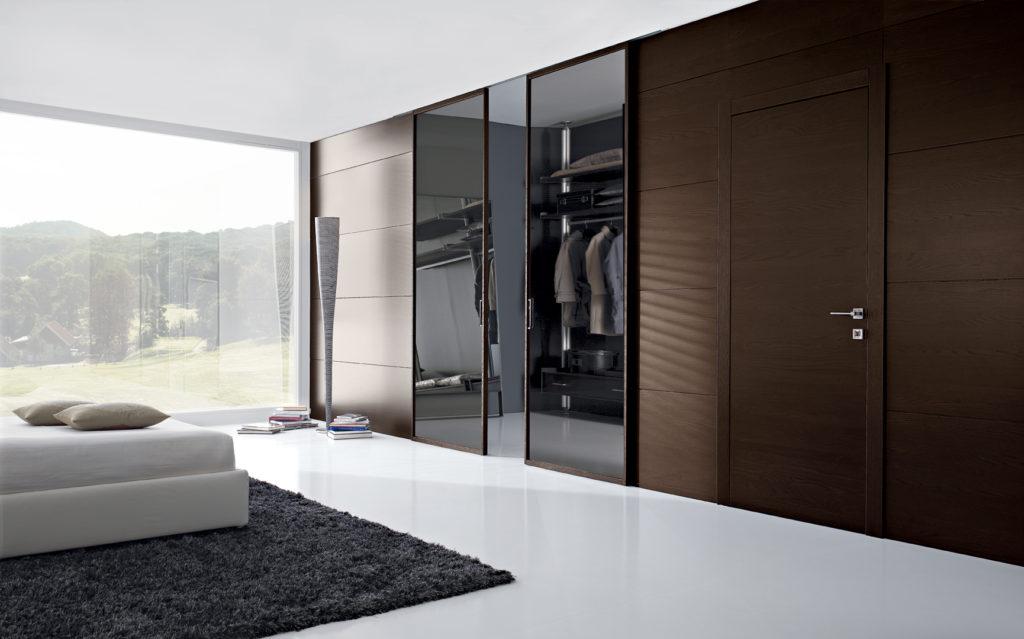 Porte in legno vetro Gdesigner