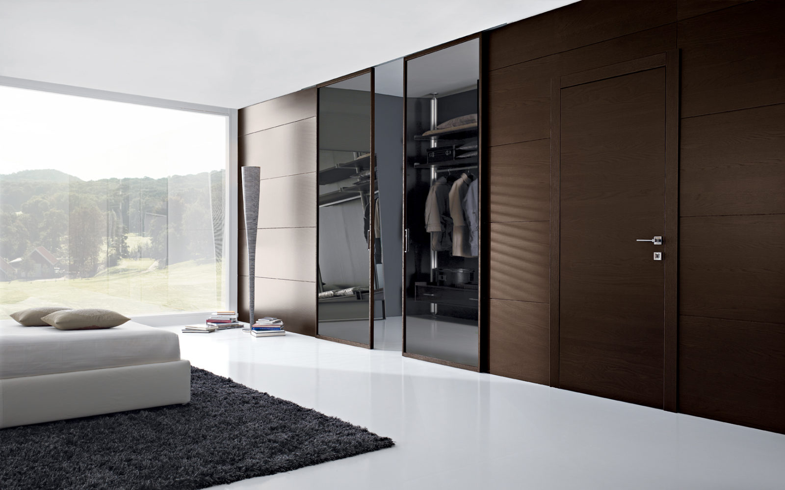 Ante In Vetro Per Armadio A Muro.Miria Wardrobes And Solutions Panels And Shelves Garofoli