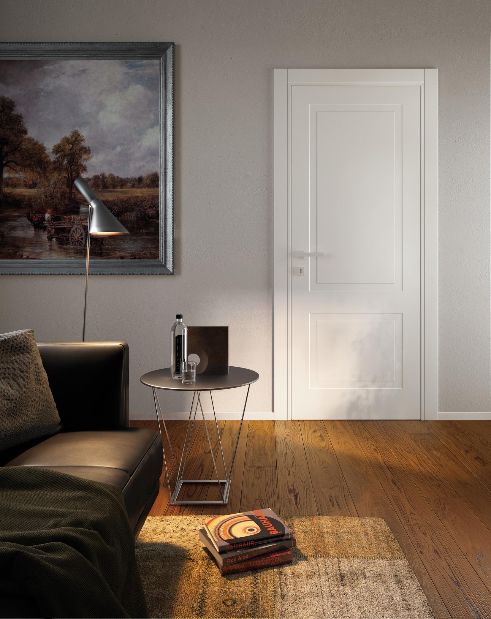 Modern Classic Interior Doors Miraquadra Collection