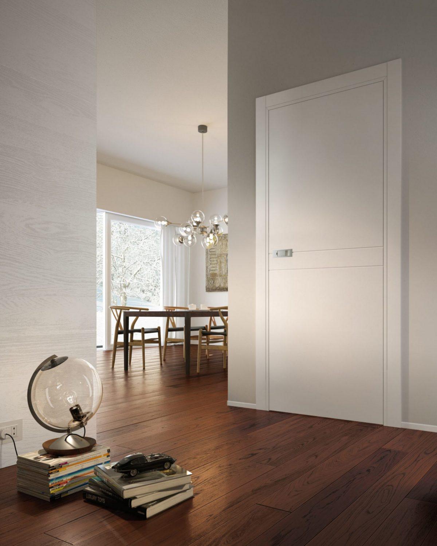 Miraquadra porte laccate bianche con maniglia moderna garofoli - Garofoli
