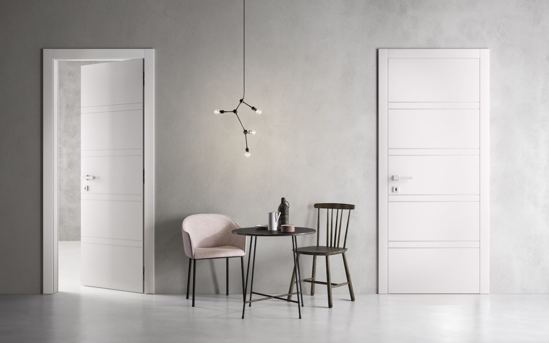 Porte laccate bianche Garofoli - Garofoli