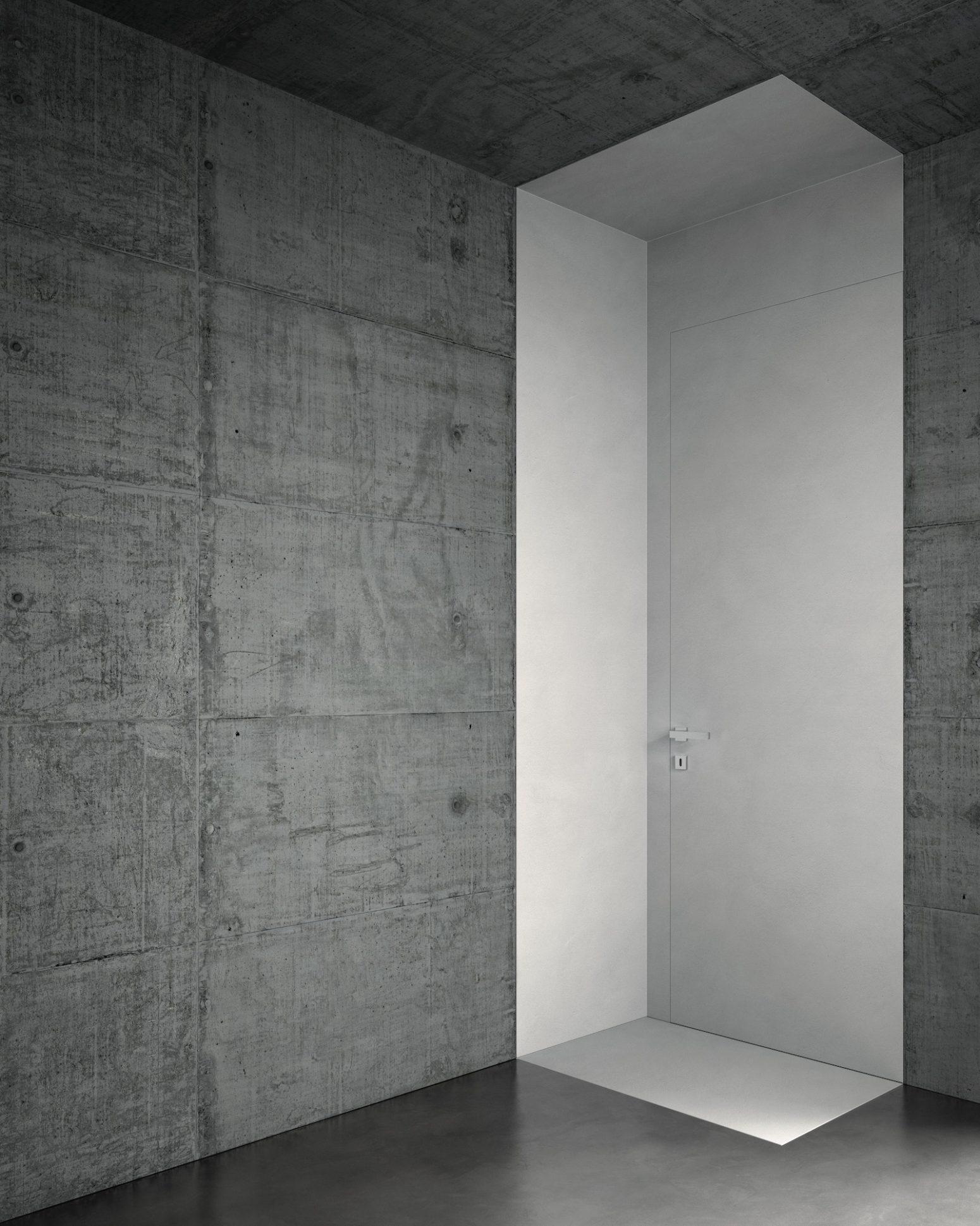 Porta tagliafuoco filomuro bianca - Garofoli