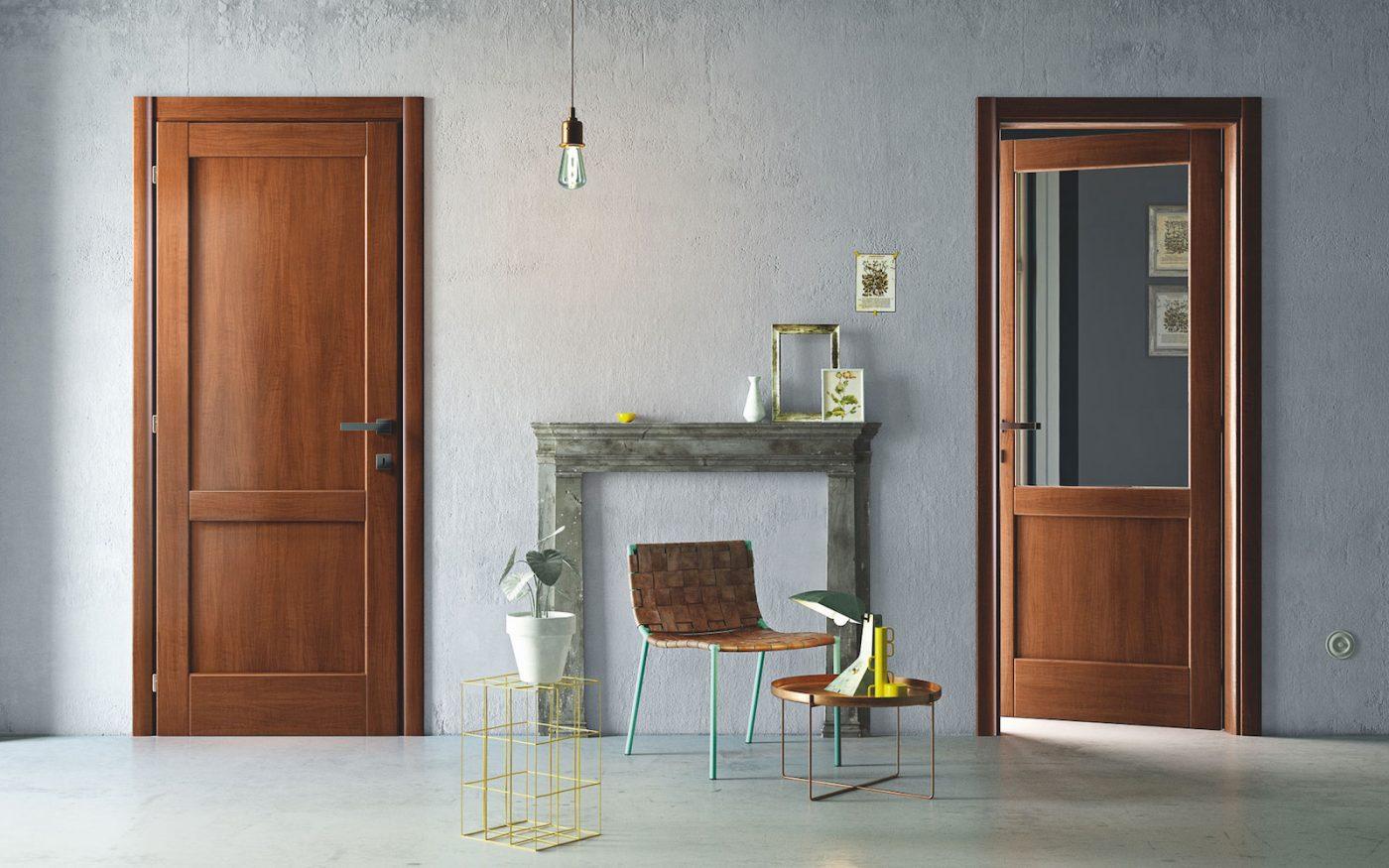 Porta in laminato stile tradizionale - Gidea