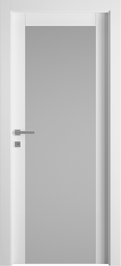Interior swinging door KIVIA 1V2015, Avio - White - Gidea
