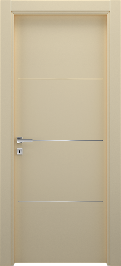 Interior swinging door BRIO 1L3F, Xonda - Ivory - Gidea