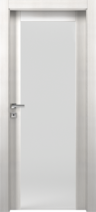 Interior swinging door KIVIA 1V2015, Avio - Ice elm - Gidea
