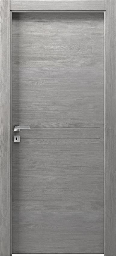 Porta da interni a battente DUILIA 1L2F SF, Avio - Olmo grigio - Gidea