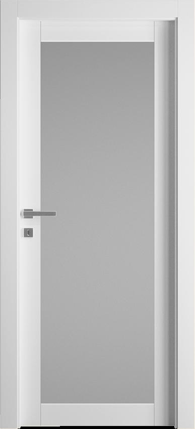 Interior swinging door ZINIA 1V SF, Avio - White - Gidea