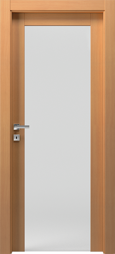 Interior swinging door KIVIA 1V2015, Avio - Bleached oak - Gidea