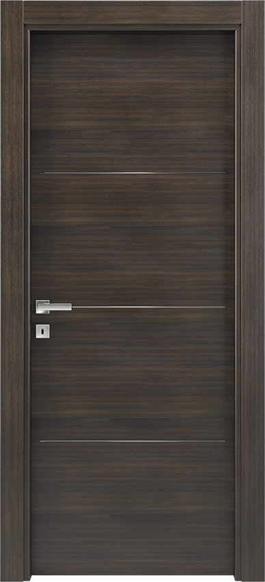 Interior swinging door BRIO 1L3F, Xonda - Oak anthracite - Gidea