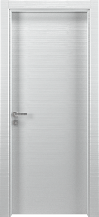 Interior swinging door BRIO 1L, Xonda - White lined - Gidea