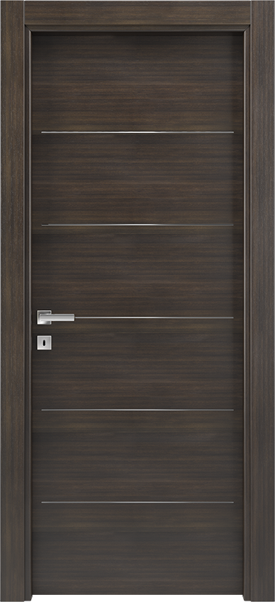 Interior swinging door BRIO 1L5F, Xonda - Oak anthracite - Gidea