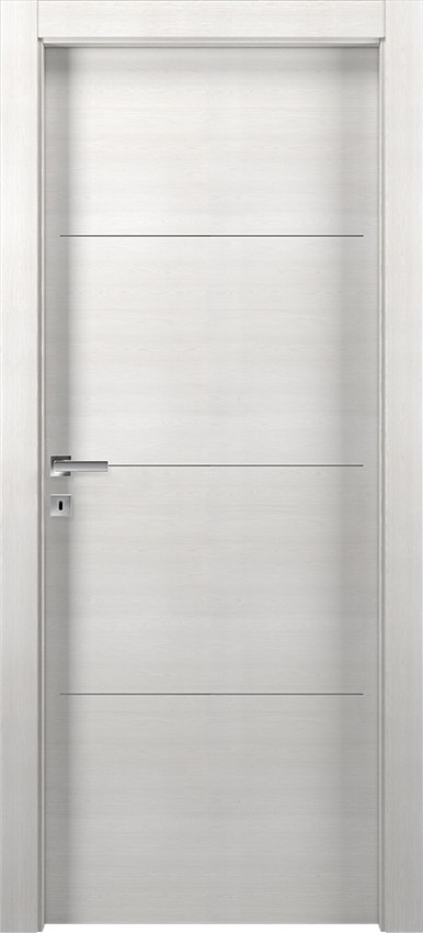 Interior swinging door TRINIA 1L3F SF, Avio - Ice elm - Gidea